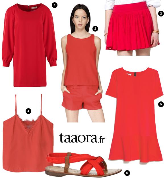 couleur rouge printemps t 2015 ba sh the kooples. Black Bedroom Furniture Sets. Home Design Ideas