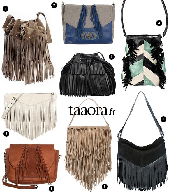 8 sacs à franges pour le printemps-été 2015 – Taaora – Blog Mode ... b31b2570ebaf