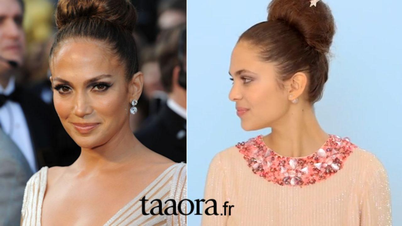 Coiffure Mariage Un Chignon Bun Style Jennifer Lopez Tutoriel Video Taaora Blog Mode Tendances Looks