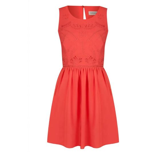 0795ff76f7b Quelle veste et quelles chaussures avec une robe rouge   – Taaora ...