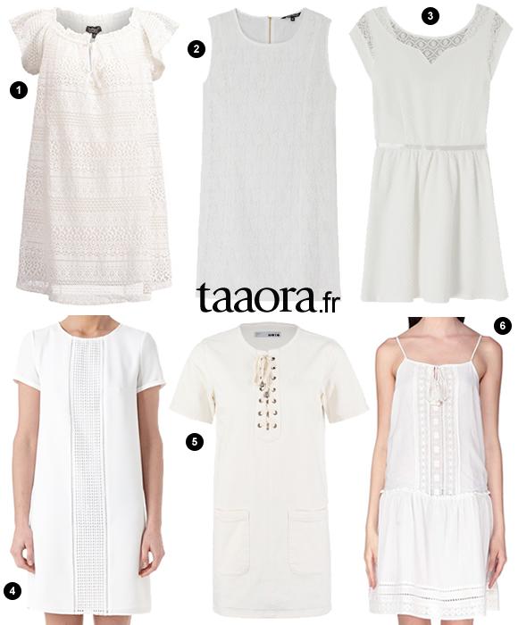 La Robe Blanche Tendance Ete 2015 Taaora Blog Mode Tendances Looks