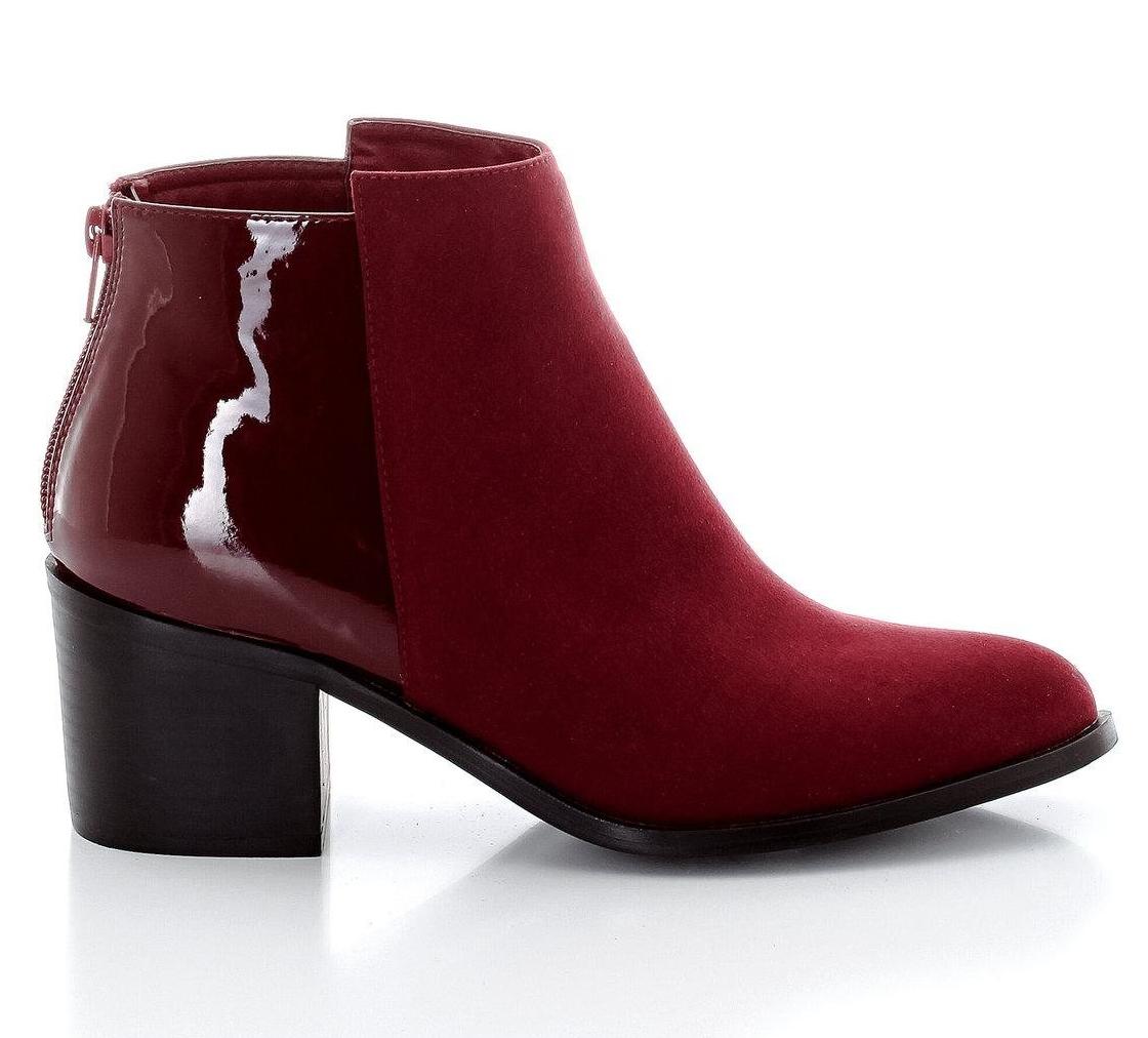 boots couleur bordeaux tendance automne-hiver 2015-2016 – taaora