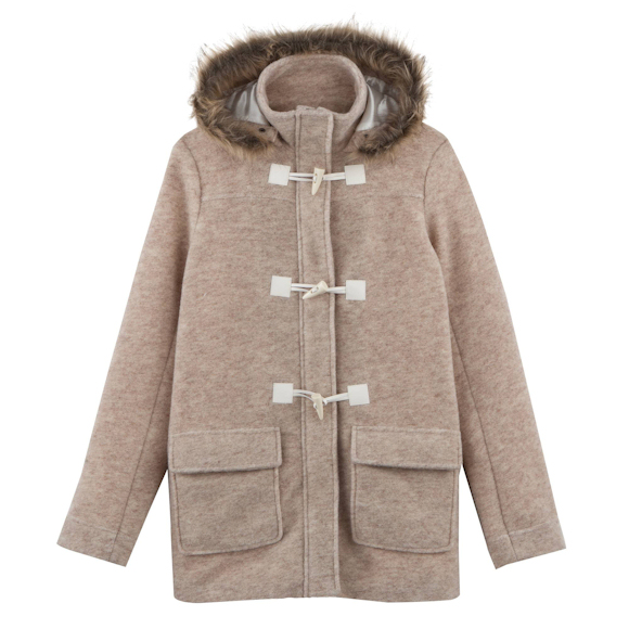 Manteau femme en laine en solde