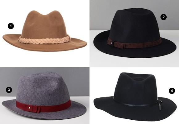 le chapeau en feutre accessoire phare de l automne hiver 2015 2016 taaora blog mode. Black Bedroom Furniture Sets. Home Design Ideas