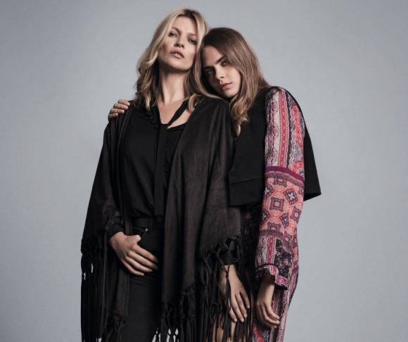 4370b1cc6c Kate Moss et Cara Delevingne pour Mango : les must have de la collection  automne-hiver 2015-2016