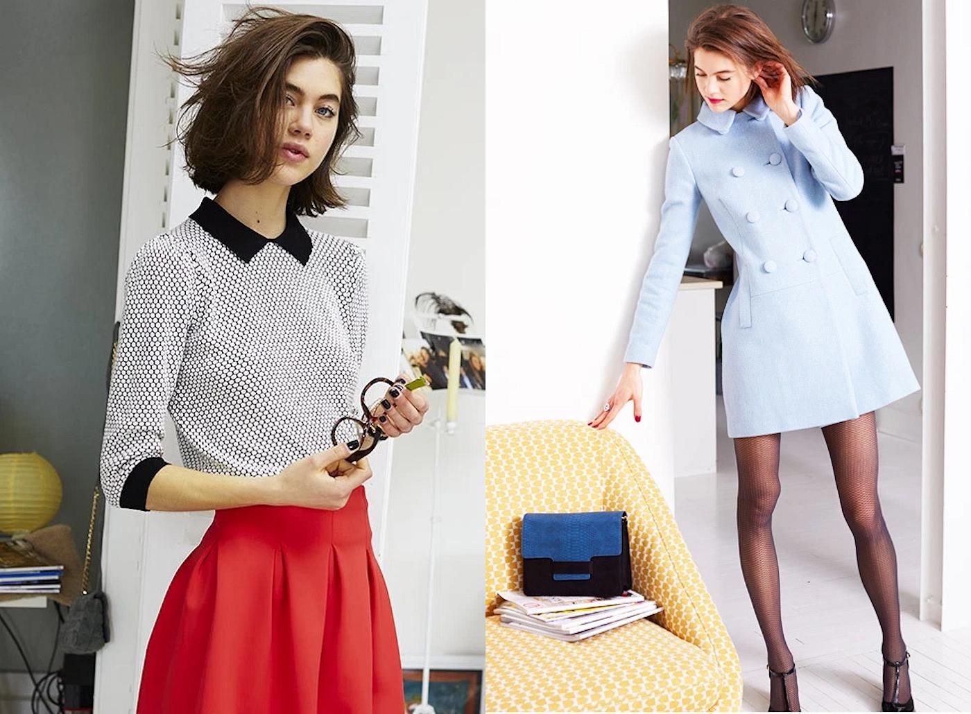 mademoiselle r la redoute collection automne hiver 2015 2016 taaora blog mode tendances looks. Black Bedroom Furniture Sets. Home Design Ideas