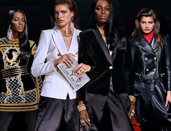 balmain x h u0026m   toutes les photos du lookbook de la collection femme