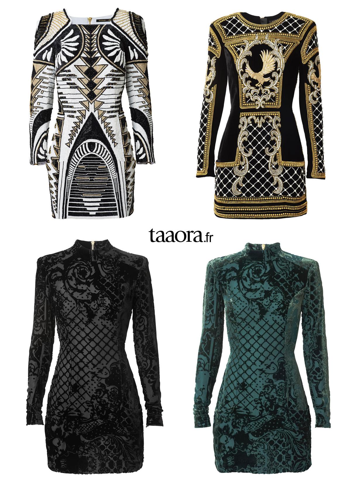 robes l gantes france robe noir et doree h m. Black Bedroom Furniture Sets. Home Design Ideas