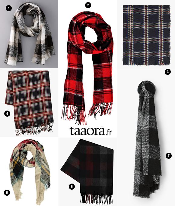 toujours populaire performance fiable meilleur site 7 écharpes à carreaux pour l'automne-hiver – Taaora – Blog ...
