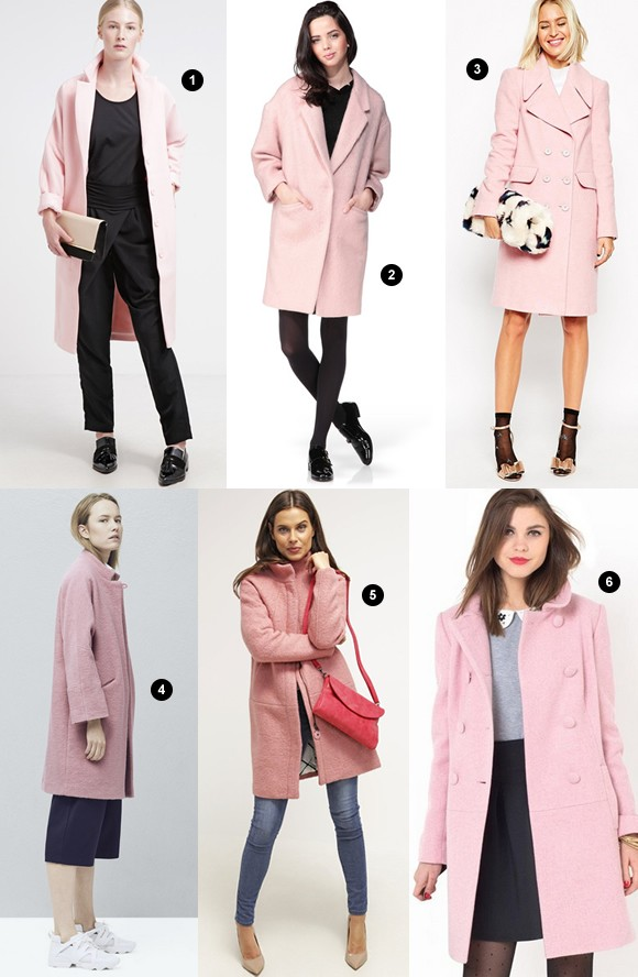 6 manteaux roses pour l hiver 2016 taaora blog mode tendances looks. Black Bedroom Furniture Sets. Home Design Ideas