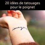 20 idées de tatouages pour le poignet repérés sur Instagram et Pinterest <3