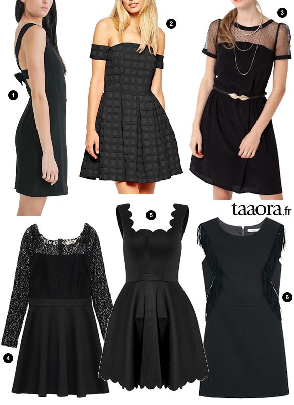 b535088928f Fêtes   6 robes de soirée noires à petit prix pour Noël ou Nouvel An ...