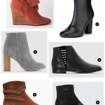 Bottines printemps-été 2016 : La Redoute, 3 Suisses, Promod, Mango, Marks & Spencer