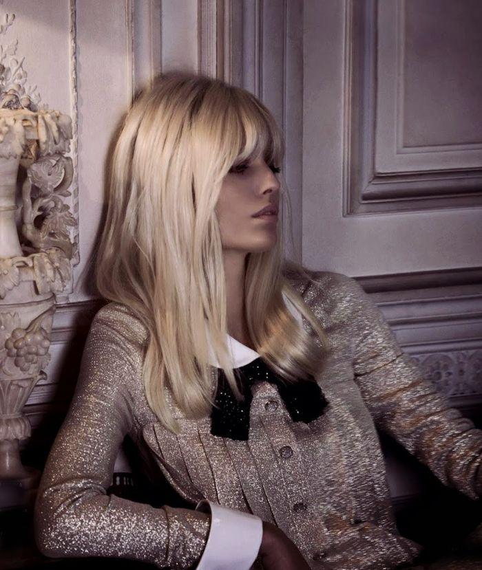 Frange style Brigitte Bardot