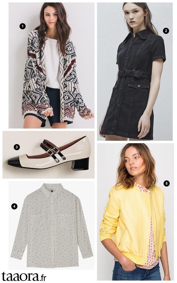 Nouveautés mode femme printemps-été 2016