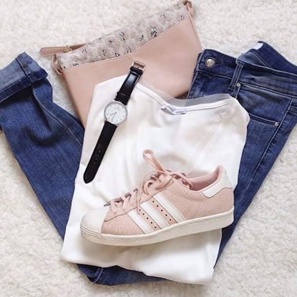 tenue adidas superstar