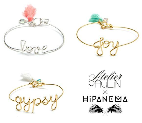 Bracelets Atelier Paulin x Hipanema