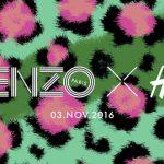 KENZO x H&M vont lancer une collection exclusive pour l'automne 2016 !