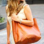 Cabas marron grand et pratique : 3 sacs à shopper dans le même style