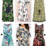 Robes tendances été 2016 : la robe imprimé tropical (sélection soldes)