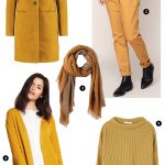 Jaune moutarde tendance automne-hiver 2016-2017
