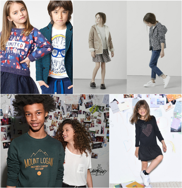 Mode enfant automne hiver 2016 2017 : Mango Kids, La Redoute