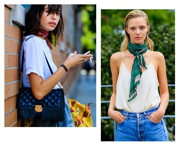 prix réduit chaussures exclusives caractéristiques exceptionnelles Le foulard : it-accessoire à porter version bandana, façon ...