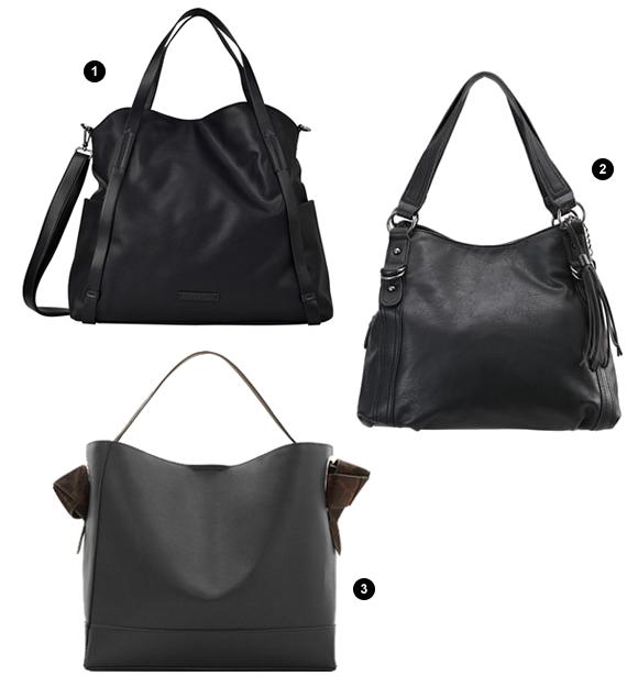 3 sacs noirs souples l gants et chics taaora blog. Black Bedroom Furniture Sets. Home Design Ideas