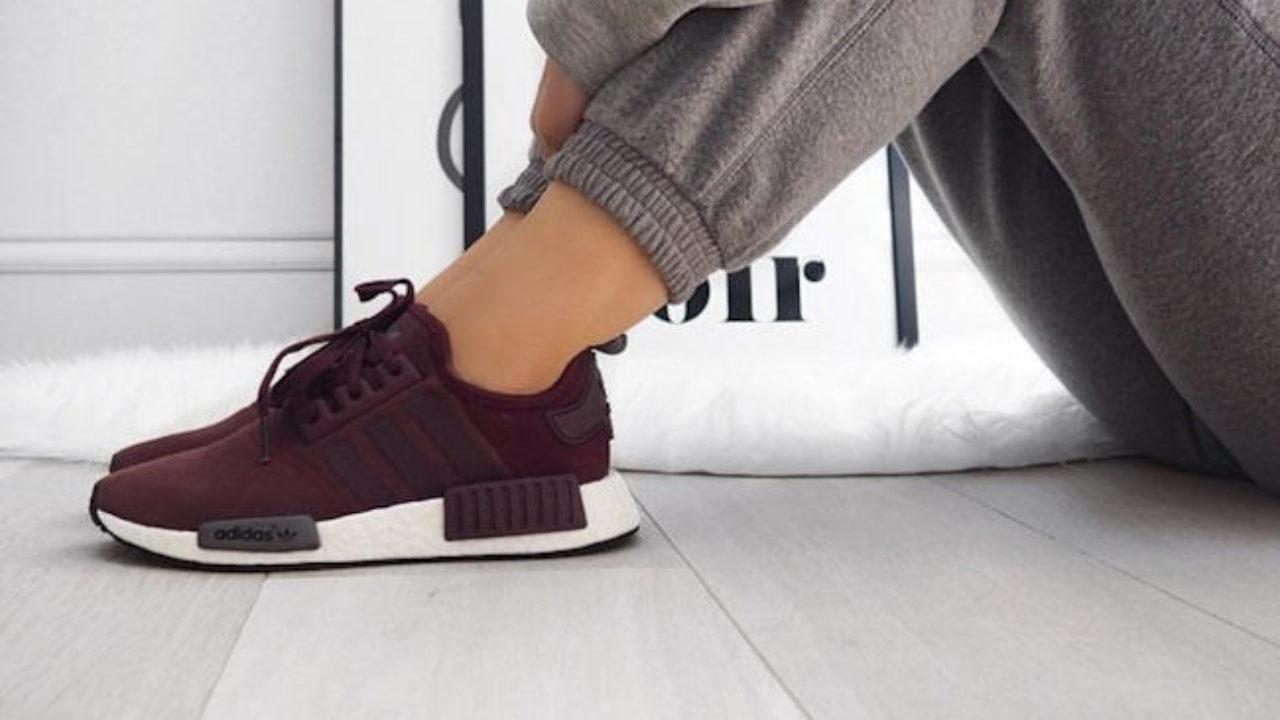 Baskets Adidas NMD rouge bordeaux – Taaora – Blog Mode, Tendances ...