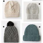 4 bonnets en maille pour affronter le froid avec style cet hiver !
