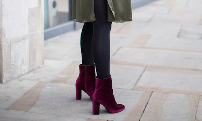 225e797cee851 Osez les bottines bordeaux en cuir velours : 4 boots similaires à ...