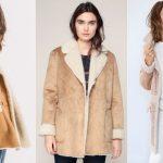 3 manteaux façon peau lainée camel/beige tendances et chauds pour cet hiver