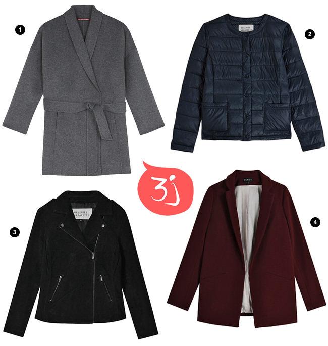 3cc65b44da6 Manteaux et vestes tendances jusqu à -50% pendant les 3J Galeries Lafayette  !
