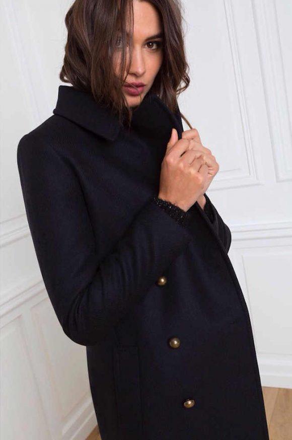 tendance hiver 2016 2017 le manteau esprit militaire double boutonnage taaora blog mode. Black Bedroom Furniture Sets. Home Design Ideas