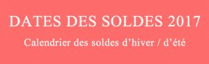 S lections mode taaora blog mode tendances looks - Date debut soldes ete 2017 ...