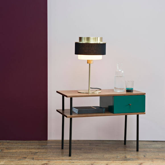 table de chevet style industriel maison sarah lavoine x la redoute int rieurs taaora blog. Black Bedroom Furniture Sets. Home Design Ideas