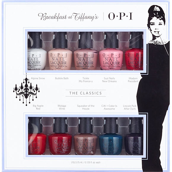 Vernis OPI Breakfast at Tiffany's
