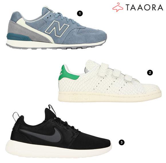 new style 207e4 3b9a3 Baskets femme en soldes New Balance Adidas Nike