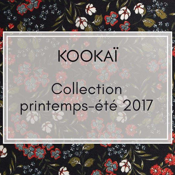 Collection Kookaï printemps-été 2017