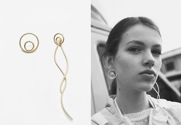 boucles d oreilles asym triques la tendance bijoux adopter taaora blog mode tendances. Black Bedroom Furniture Sets. Home Design Ideas