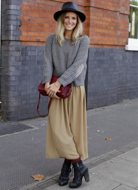 Comment porter une jupe midi camel ? – Taaora – Blog Mode ...