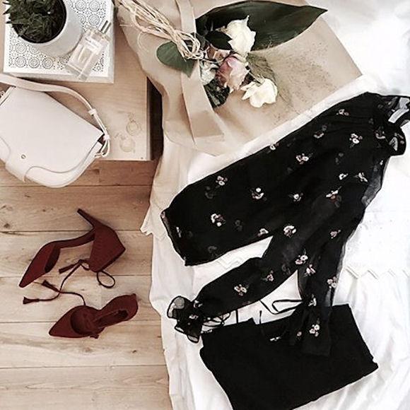 une tenue de saint valentin f minine taaora blog mode tendances looks. Black Bedroom Furniture Sets. Home Design Ideas