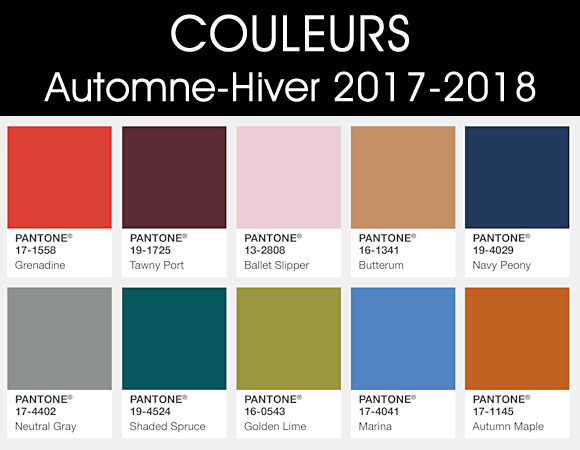 couleurs automne hiver 2017 2018 5 id es shopping. Black Bedroom Furniture Sets. Home Design Ideas