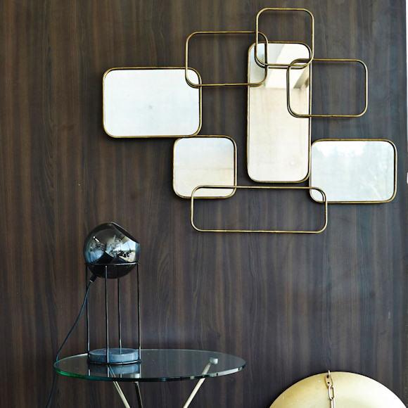 miroir graphique pour habiller son mur d un esprit fifties taaora blog mode tendances looks. Black Bedroom Furniture Sets. Home Design Ideas