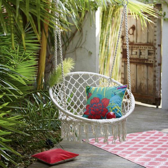 Chaise-hamac pour le jardin