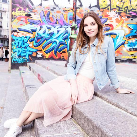 Avec quoi porter une jupe rose clair ?