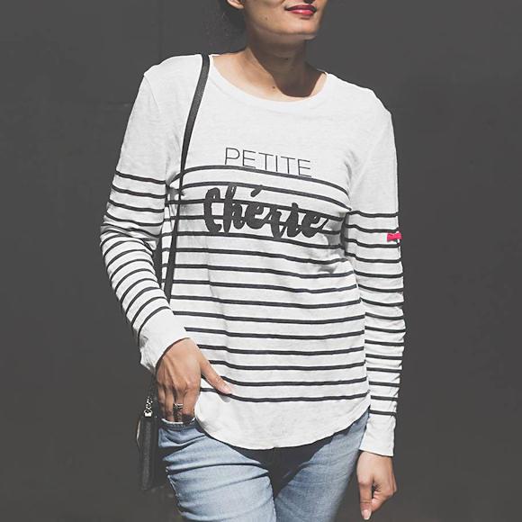 T-shirt Petite Chérie Annick Goutal Claudie Pierlot