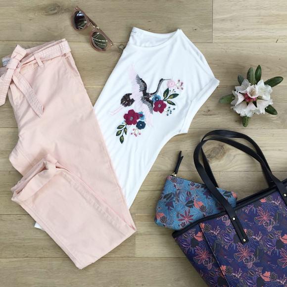 Avec quoi mettre un pantalon rose clair