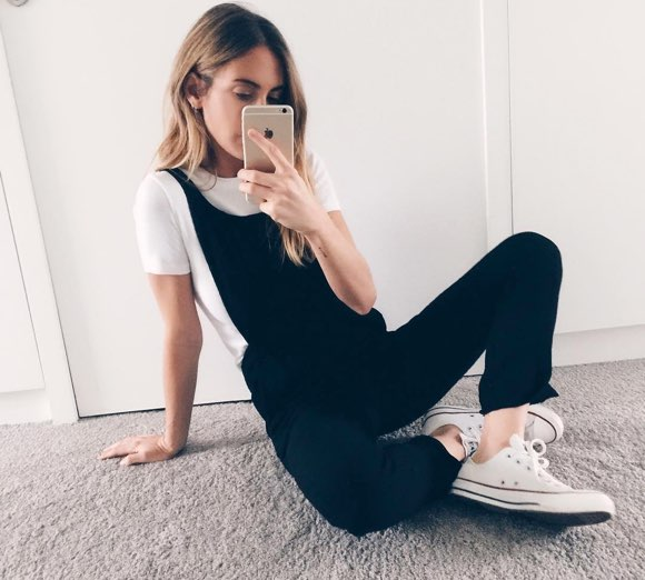 converse basse blanche look