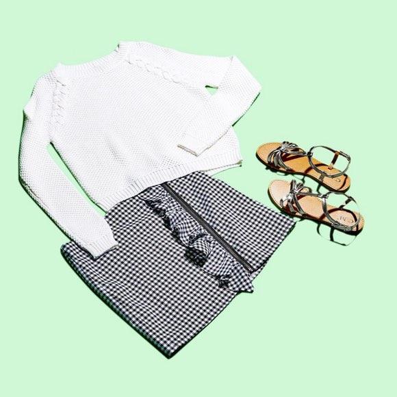 Comment porter la jupe à carreaux